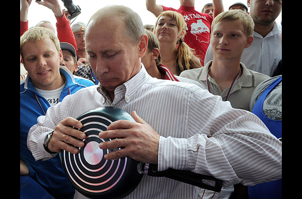Putin Visits Youth Camp