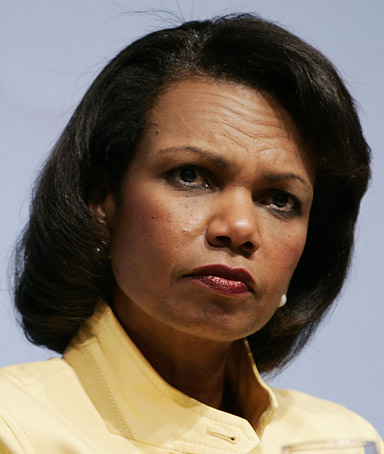 Secretary of State, Condoleeza Rice