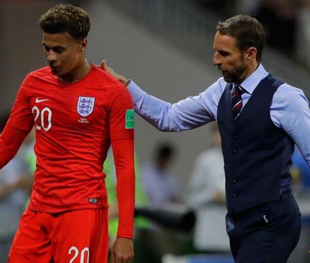 Fifa World Cup 2018 Dele Alli Trains As Gareth Southgate Plans For Belgium Encounter