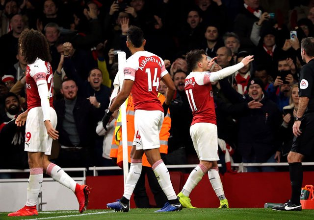 Arsenal boss Unai Emery reveales his plans for clash against Huddersfield 1544292768 Torreiras late winner moves Arsenal into third AP