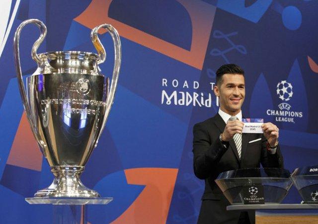 Kết quả hình ảnh cho champion league draw