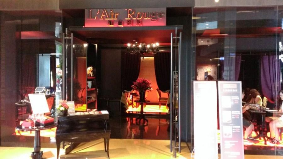 [台北]紅色檳氛L' Air Rouge-華麗法式宮廷風餐廳–踢小米食記