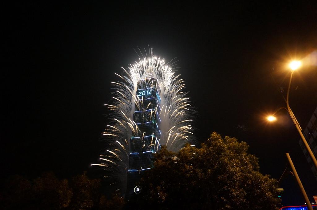 【台北】101 跨年煙火活動紀錄 祝大家新年快樂–踢小米遊記