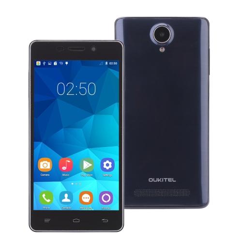 "OUKITEL Original Pure Smartphone Android 5.0 MTK6582 Quad Core 5.0"" IPS 1GB RAM 8GB ROM 2MP 8MP Dual Cameras"