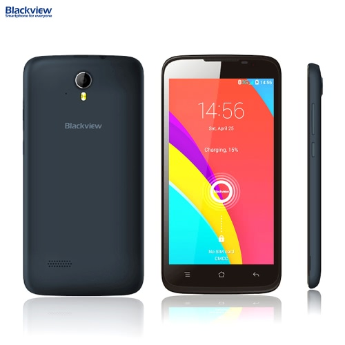 """Blackview Zeta 3G WCDMA GSM MTK6592 Octacore 1.4GHz Smartphone 5.0"""" HD IPS Android 4.4 1GB RAM 8GB ROM 5MP 8MP Dual Cameras"""