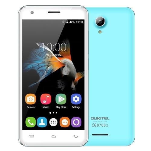 "OUKITEL C2 3G WCDMA Smartphone Android 5.1 Lollipop OS MTK6580M Quad Core 4.5"" IPS Screen 1GB RAM 8GB ROM 5MP 5MP Dual Cameras OTA"