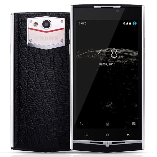"UHANS U100 Smartphone 4G FDD-LTE 3G WCDMA MTK6735 64-bit Quad Core 4.7"" HD 1280 * 720 Pixels Screen Android 5.1 2G+16G 5MP 13MP Dual Cameras OTG Smart Gesture HotKnot Power Saving Mode"