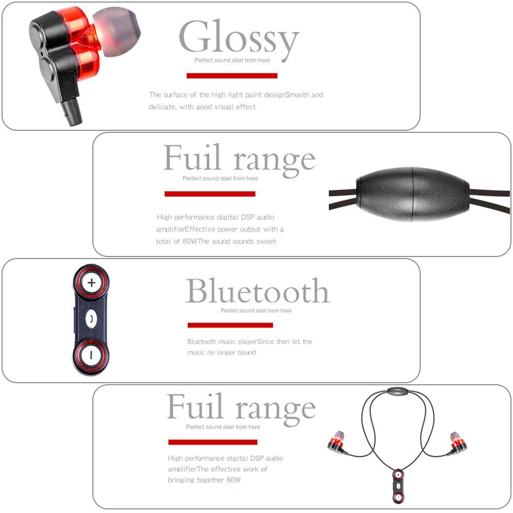 Bluetooth 4.1 Headphones Neckband Sp (end 2/24/2018 2:15 PM)