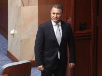 Bývalý premiér Nikola Gruevski utiekol do Maďarska.