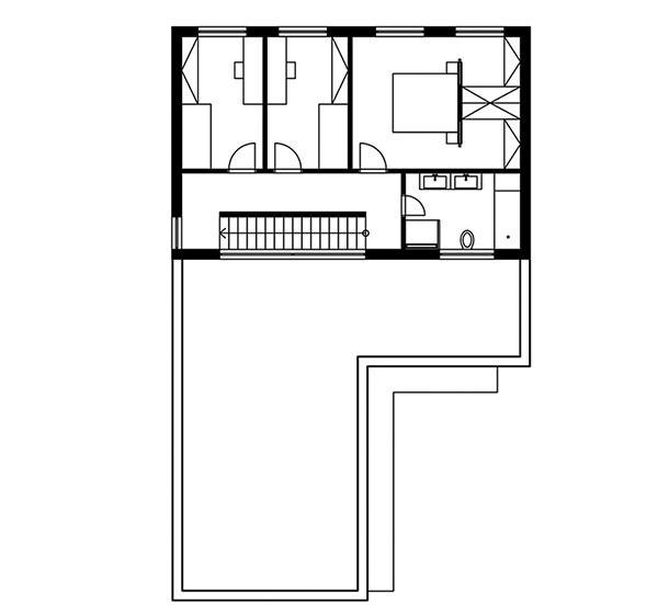 Projekt poschodového rodinného domu 1604
