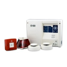 Fire Detection Kit BS-1619 Consists of Panel - Smoke Detector - Thermo-Diffusion Detector - Alarm (Olympia Electronics - BS-1619_KIT)