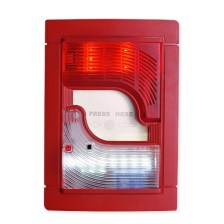 Autonomous Siren with Beacon BS-3001 Along with Fire Extinguishing Call Point & Backup Light (Olympia Electronics - BS-3001)