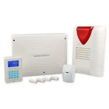 Wired Burglar Alarm BS-468_A_KIT With infra red motion detector (Olympia Electronics - BS-468_A_KIT)
