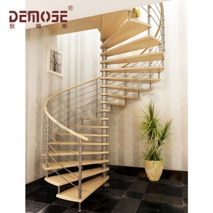 House Steel Wood Staircase For Small Space Wholesale Stairs | Steel And Wood Staircase | Glass | Custom | Handrail | Contemporary | Inside