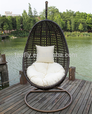 Hot Sale Outdoor Egg Wicker Rattan Hanging Patio Garden Swing Chairs Wholesale Patio Swings Products On Tradees Com