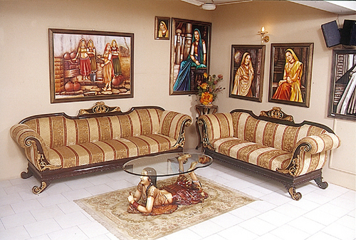 Sofa Set Pictures India Indian Sofa Sets Wooden Sofa With Indian Clic Style