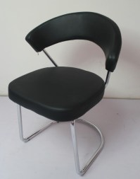 Black Leather Dining Chair in Langfang, Hebei - Bazhou ...