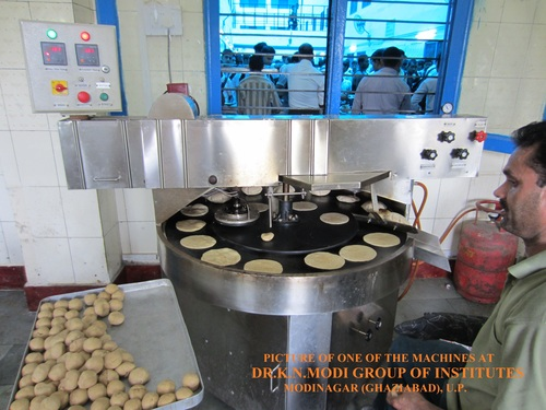 used commercial kitchen equipment buyers cabinets hardware chapati making machine (1000 roti per hour) in modinagar ...
