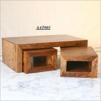 Wooden Center Table in Ajmer Road, Jaipur | KASBA FURNITURE