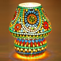 Mosaic Table Lamp (DE063) in New Delhi, Delhi - De Rien ...