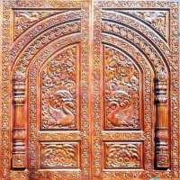 Indoor Wooden Hindu Temples With Doors | Joy Studio Design ...