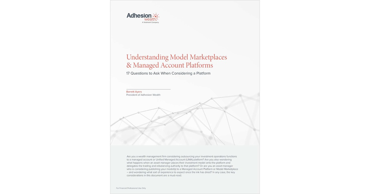 Understanding Model Marketplaces & Managed Account