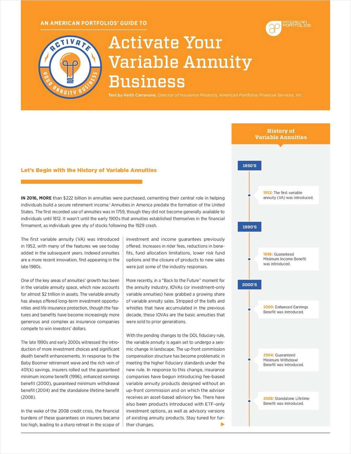 Best Variable Annuities