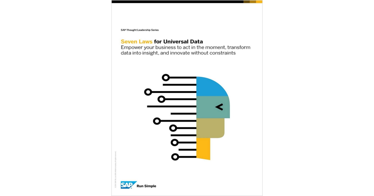The 7 Laws of Universal Data, Free SAP Thought Leadership