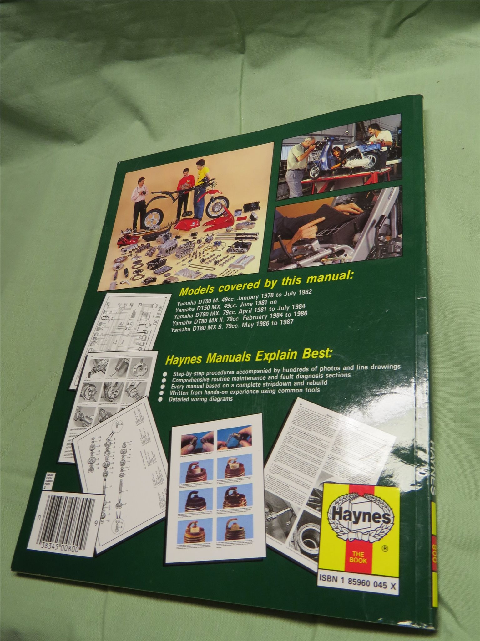 hight resolution of wiring diagram 1978 yamaha dt 125 service manual haynes manual yamaha dt 50