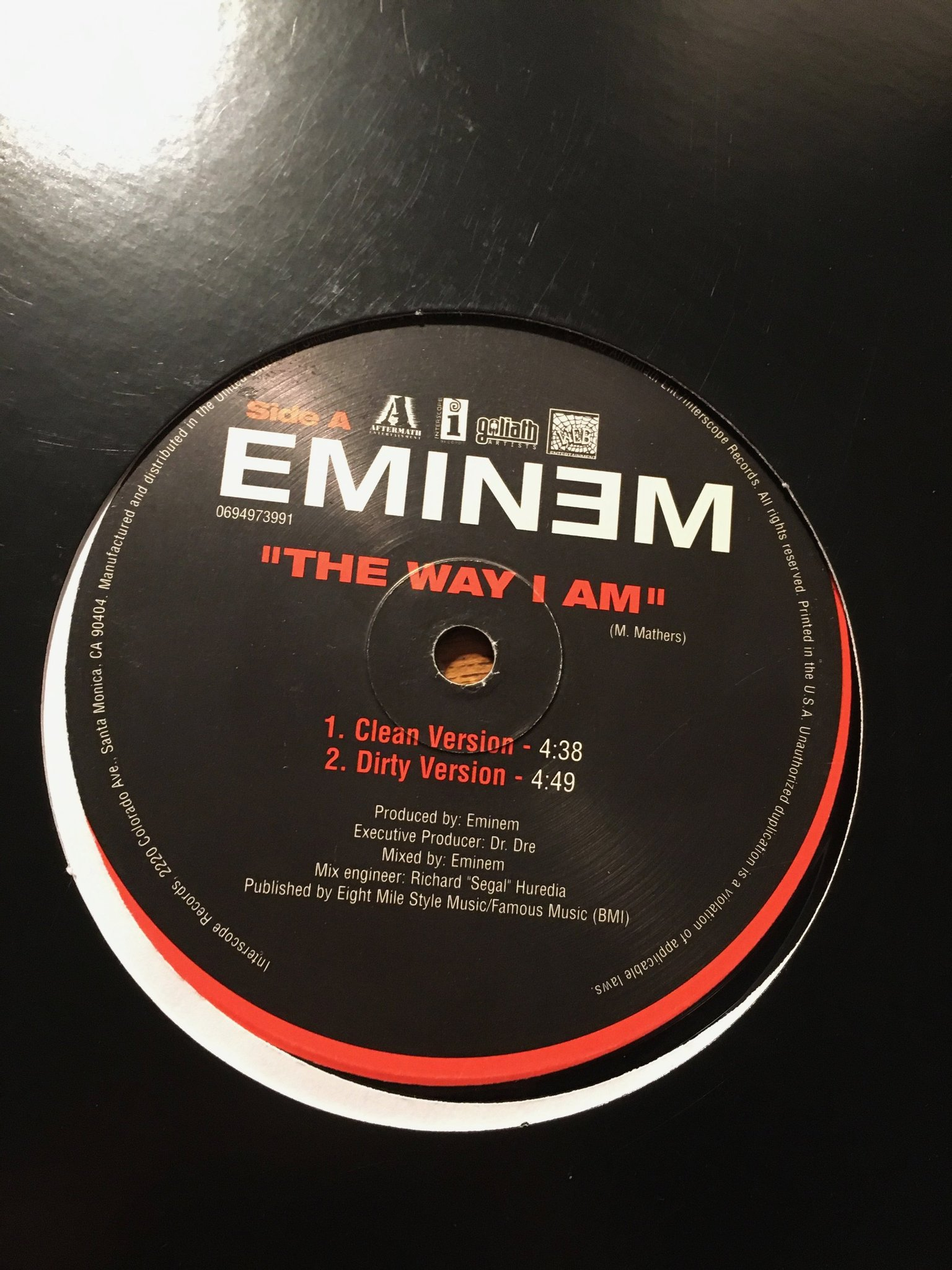 Eminem The Way I Am Clean : eminem, clean, Eminem, (433464547), Tradera