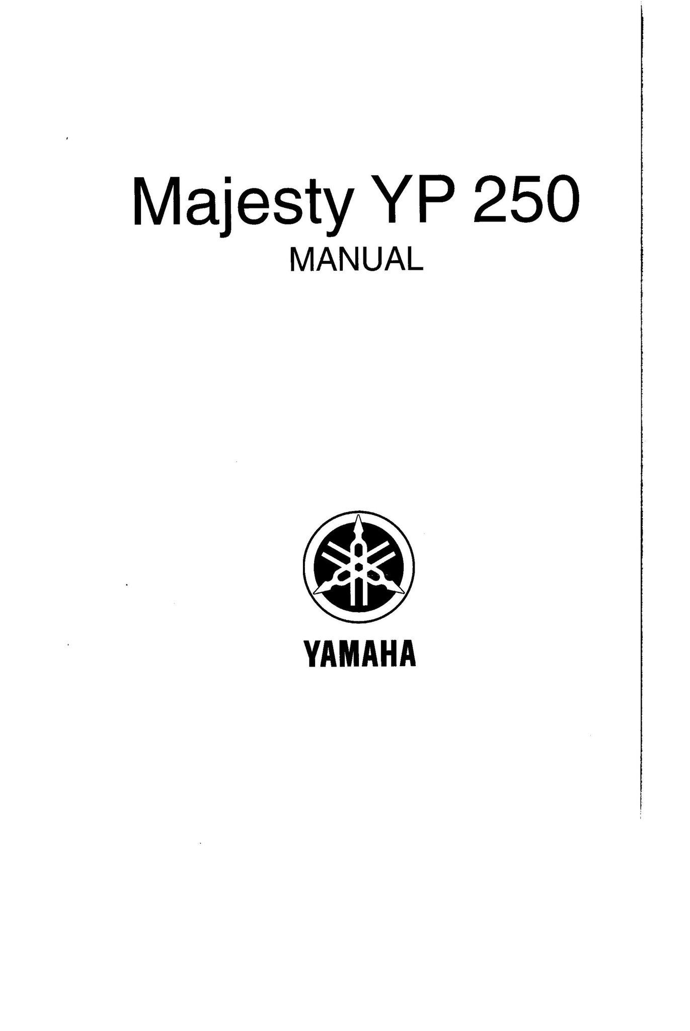 Manual Yamaha Majesty YP 250 (404568431) ᐈ Köp på Tradera