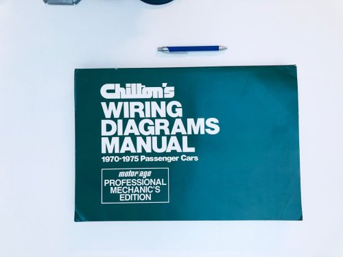 small resolution of chilton s wiring diagrams manual