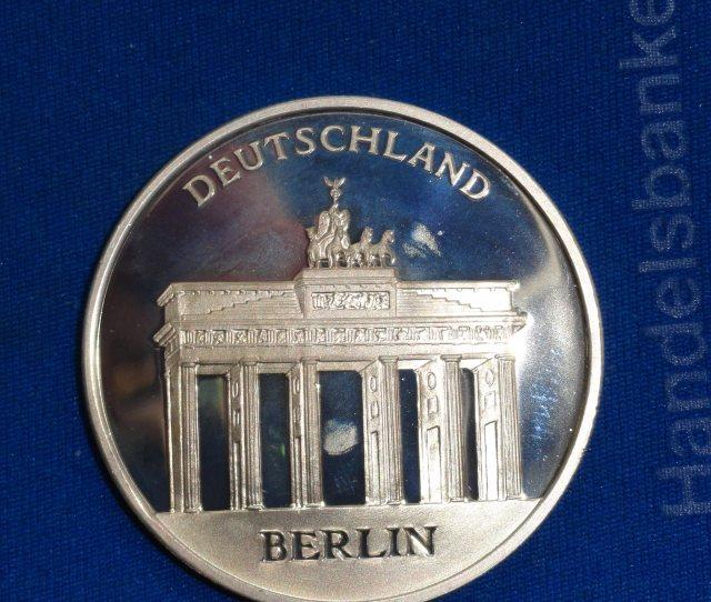 Tyskland Silver Myunt 18 4 Gr