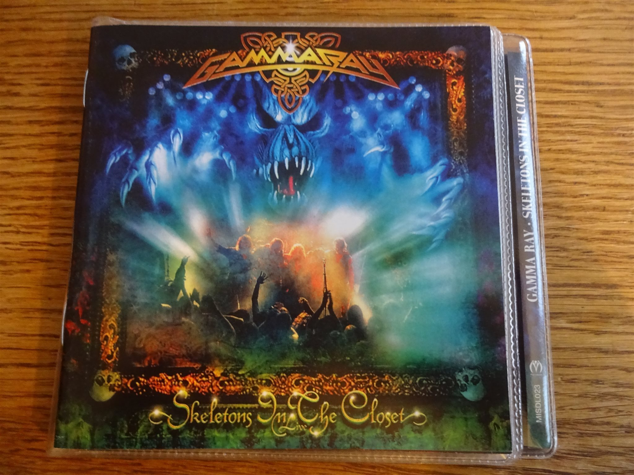 Gamma Ray Skeletons In The Closet Rare Dubbel Cd I Fint Skick