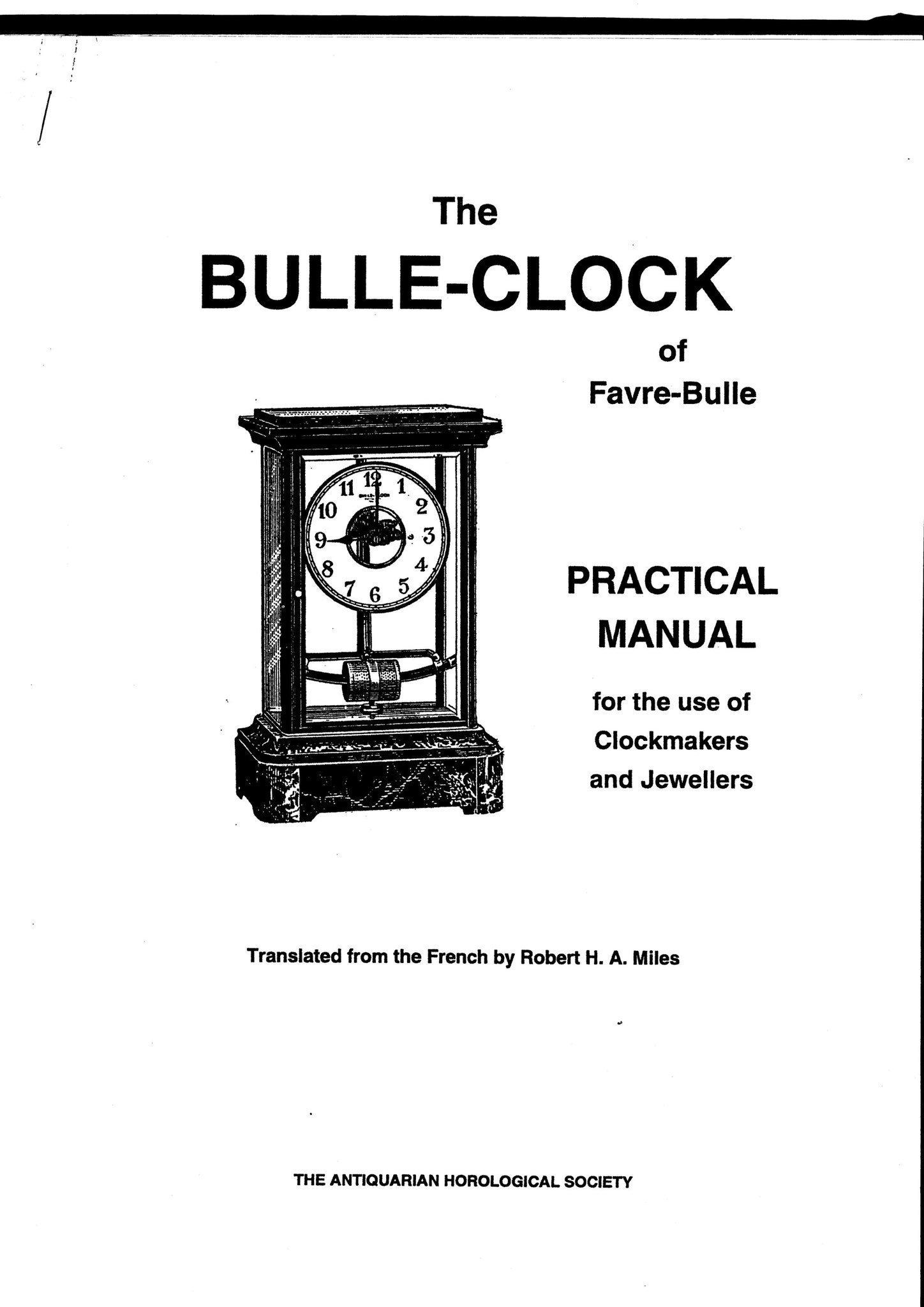 Bulle Clock Klocka Reparationsanvisning manual (408044246