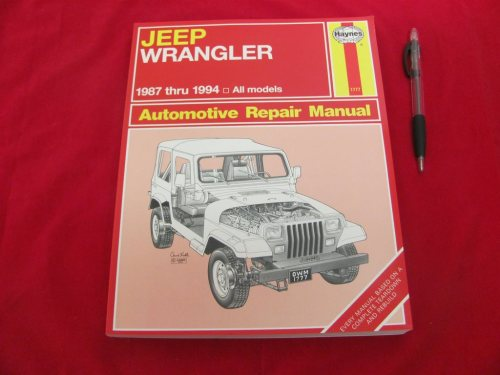small resolution of jeep wrangler 1987 1994 automotive repair manual 319188683 k p p tradera