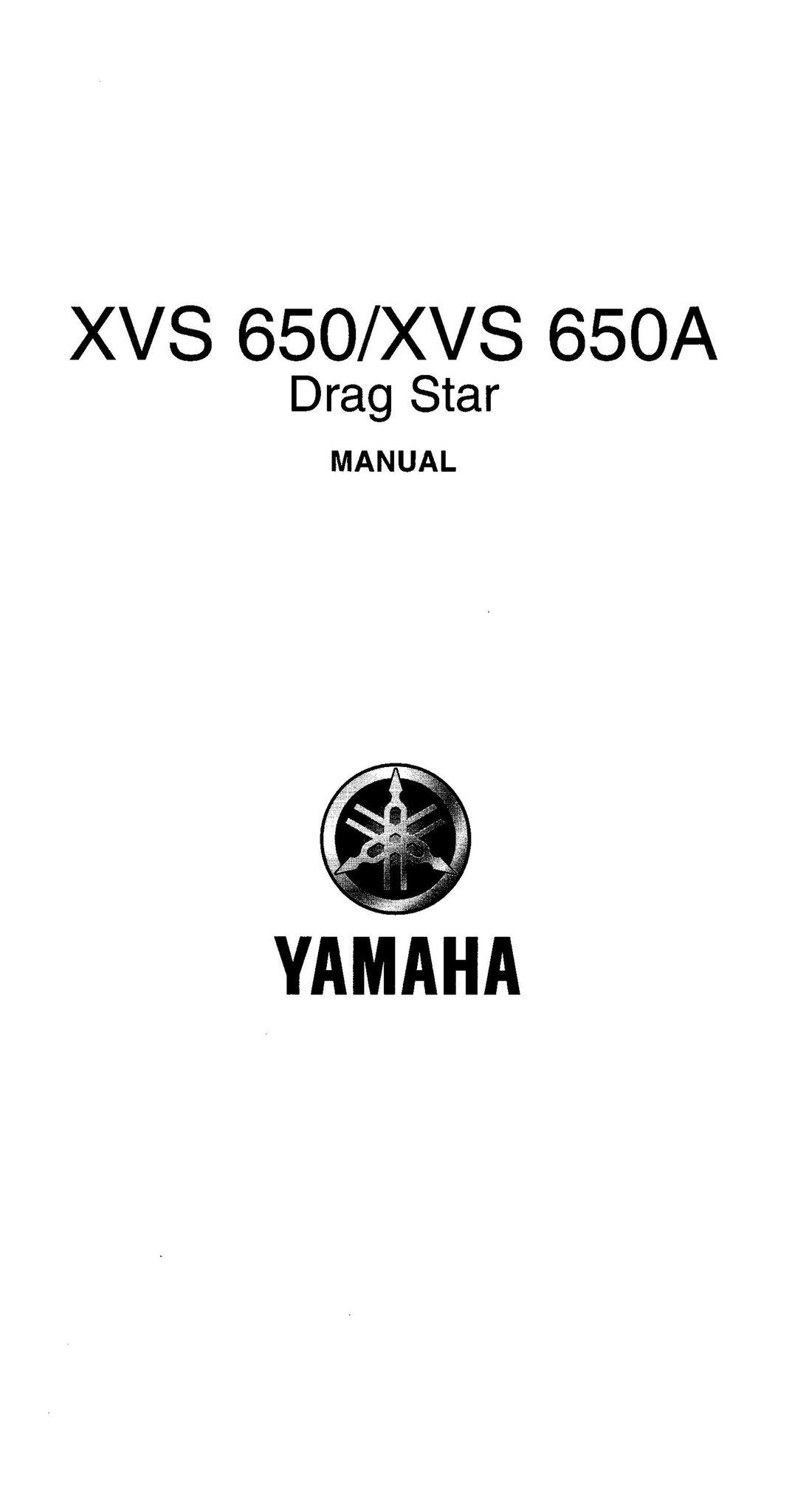 Manual Yamaha XVS 650/XVS 650A Drag Star (370135870) ᐈ Köp