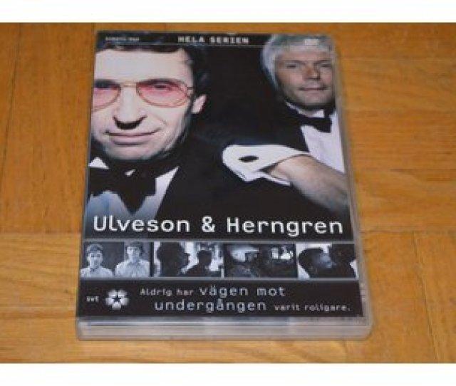 Ulveson Herngren Hela Serien 2 Disc Dvd