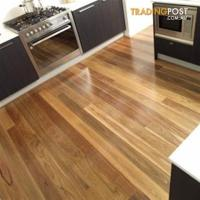 Spotted Gum Timber Flooring 130X19mm Select for sale in ...