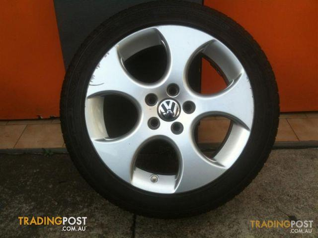 Vw Golf 5 Gti 17 Inch Genuine Alloy Wheels For Sale In