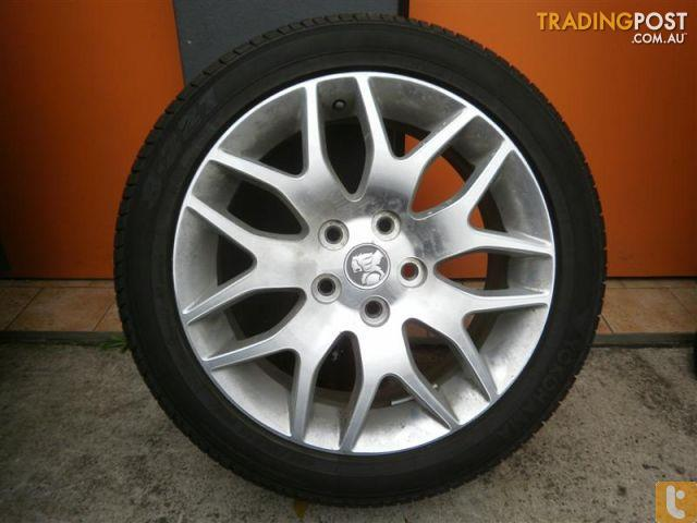 Wheels Amp Tyres Holden Ve Calais 18 Inch Genuine Alloys For