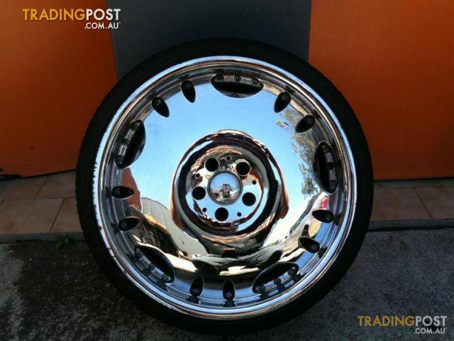 Zenetti Heir 20 Inch Chrome Alloy Wheels For Sale In