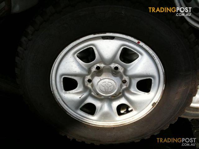 Toyota Hilux Sr 16 Inch Steel Rims And Tyres For Sale In