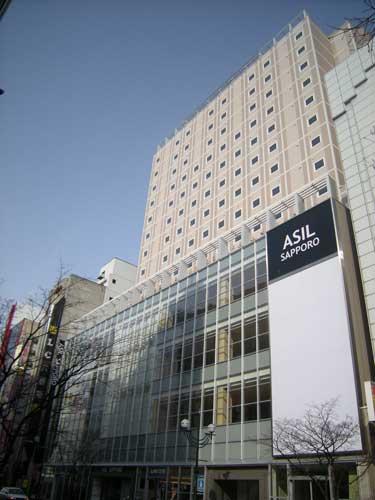 ホテルルートイン札幌中央/外観