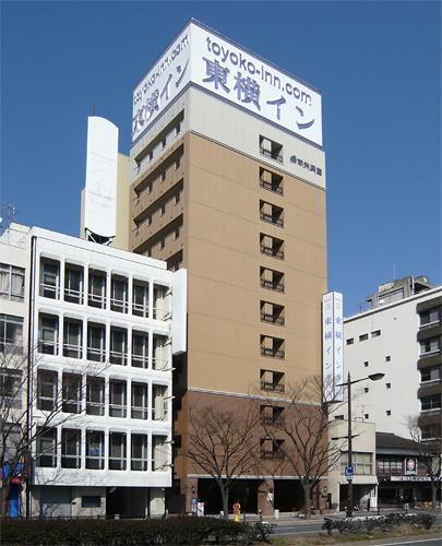 東横イン下関海峡ゆめタワー前(旧:下関駅東口)/外観