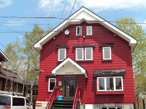 THE RED SKI HOUSE/外観