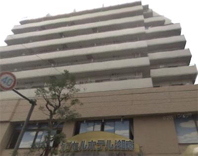 カプセルホテル湘南/外観