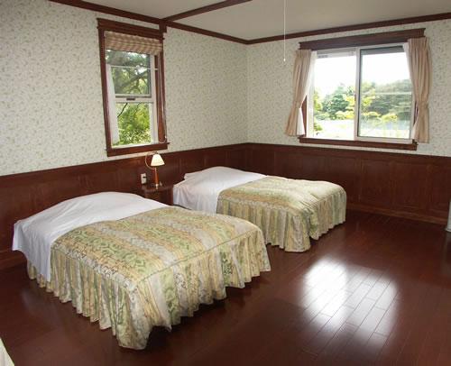 軽井沢の貸別荘 桜ヶ丘パークコテージ/客室