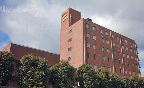 ビジネスホテル歴城荘/外観