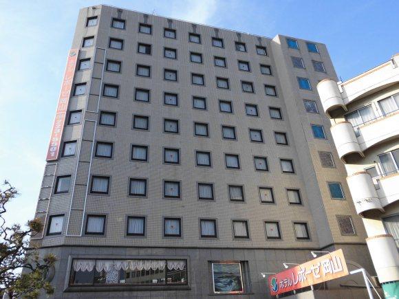 ホテルレポーゼ岡山(KOSCOINNグループ)/外観
